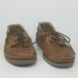 SPERRY Mako Men's size 11 leather boat shoes